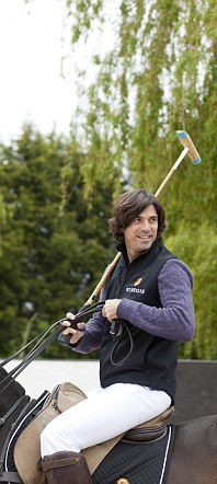 Nacho Figueras in his St Regis gilet